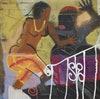 Image may contain: Art, Mural, Painting, and Graffiti