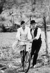 Katharine Ross e Paul Newman in Butch Cassidy, 1969