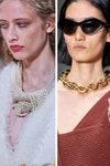 Collane moda 2020 catena, torque e perle dell'estate 2020
