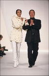 Fashion show ready -to -wear fall -winter 91 -92 in Paris, France in March, 1991