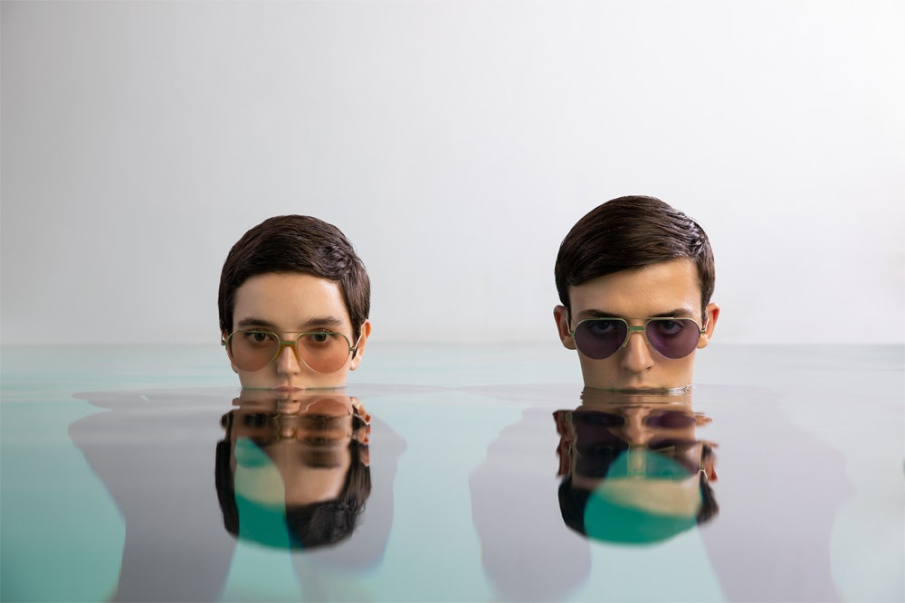 Солнцезащитные очки Tsvetnoy x Andy Wolf — идеальная модель в духе 1970-х