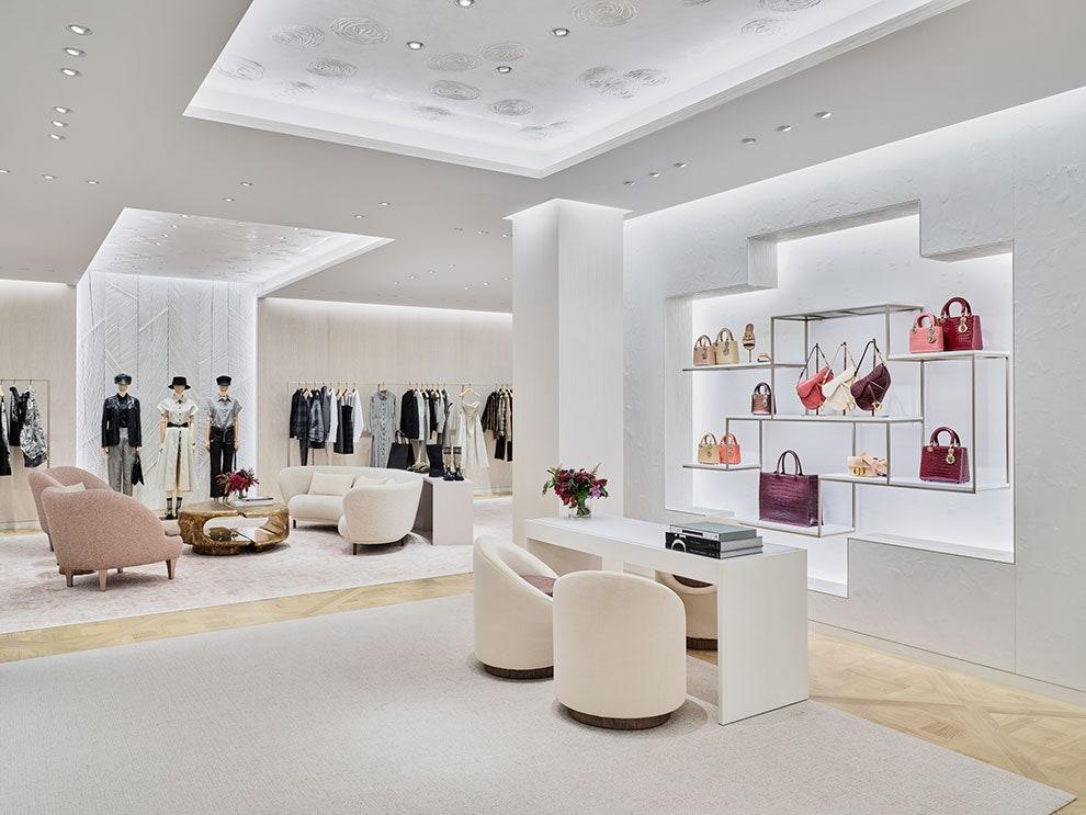 Обновленный бутик Dior в Столешниковом переулке
