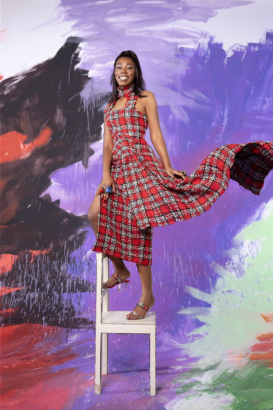 Неделя моды в Лондоне: «Делать сейчас реальный показ — подход устаревший», — Майкл Халперн о своей коллекции весна-лето 2021
