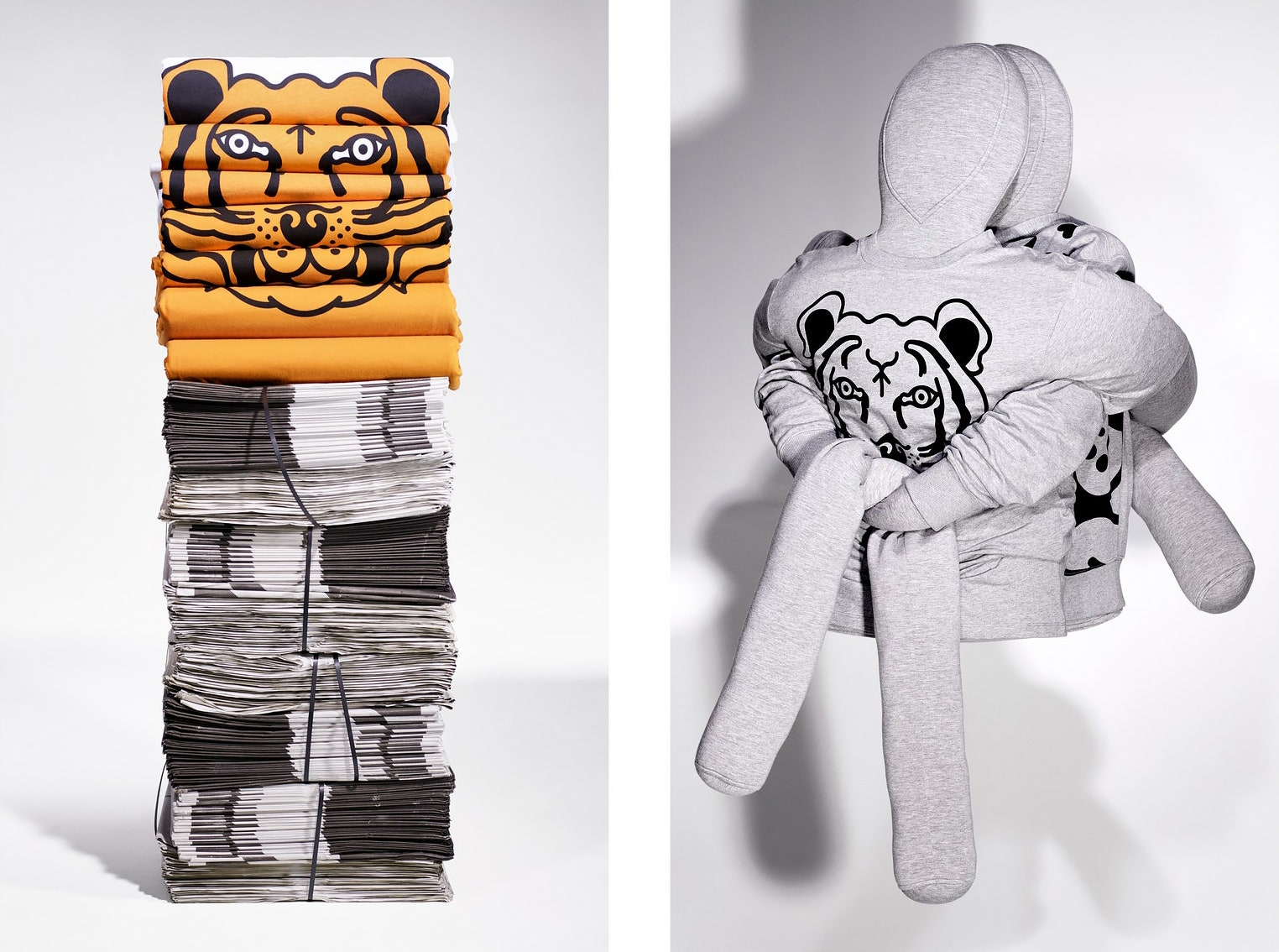 Коллекция Kenzo поможет Всемирному фонду дикой природы в спасении вольных тигров