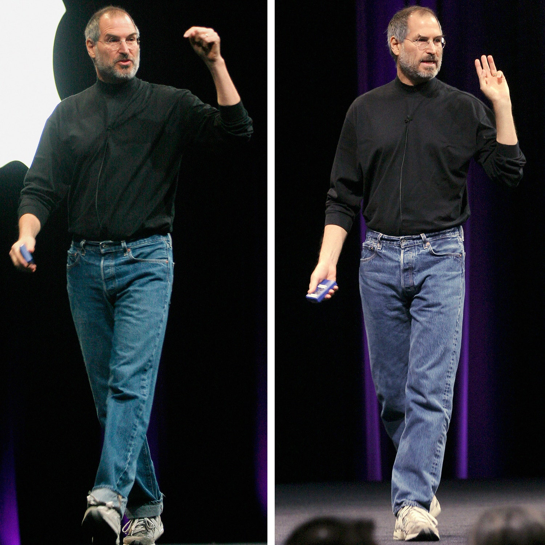 Стив Джобс — гуру аскетичного стиля