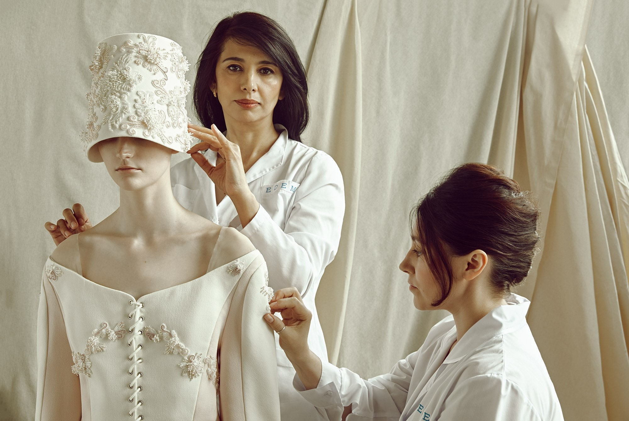 Русские бренды: рукодельное искусство в новых коллекциях Ulyana Sergeenko, Yanina и Edem