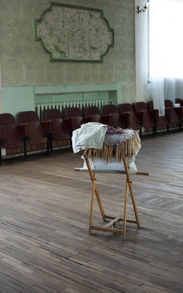 Подушка для плетения кружева. ДК «Волга»