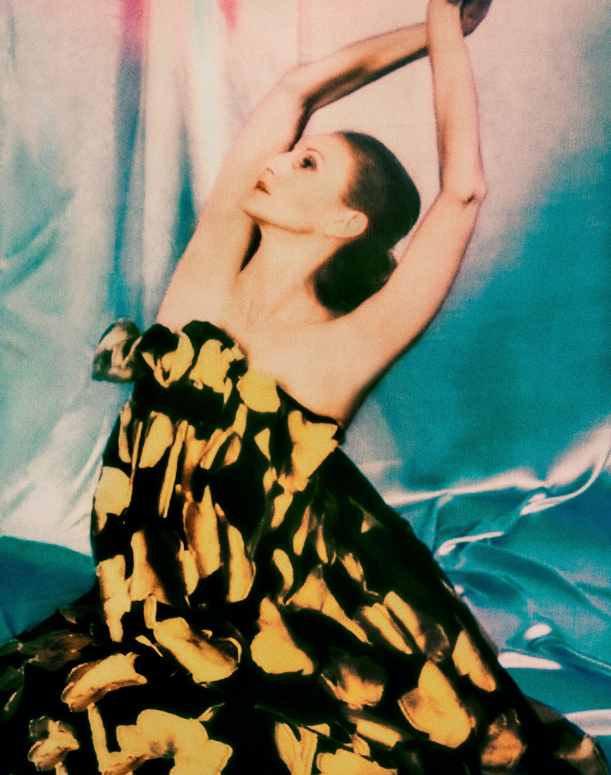 Carolina Herrera осень-зима 2020: танцоры балета «оживляют» коллекцию