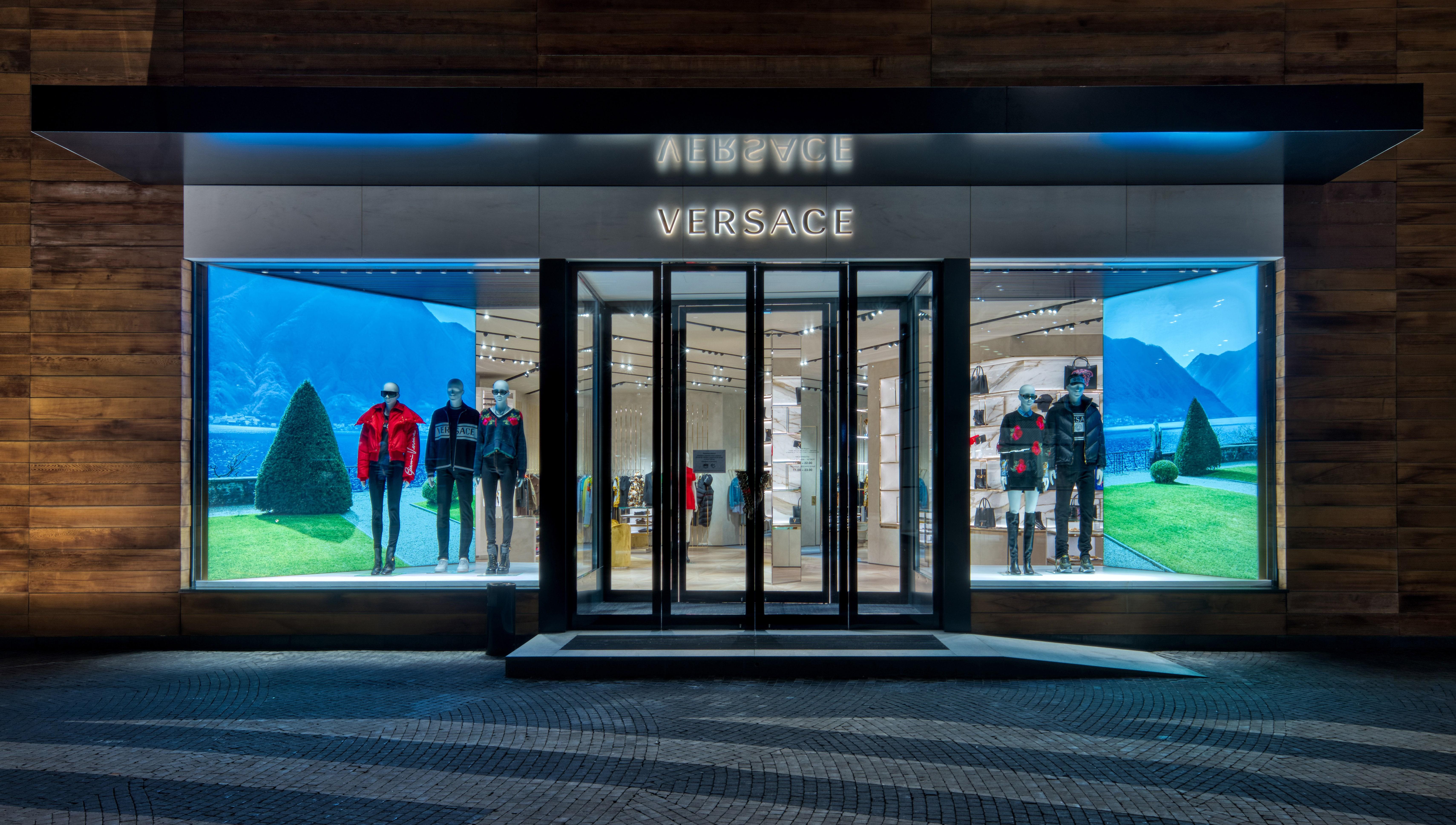 Versace открыли новый бутик в «Барвихе Luxury Village»