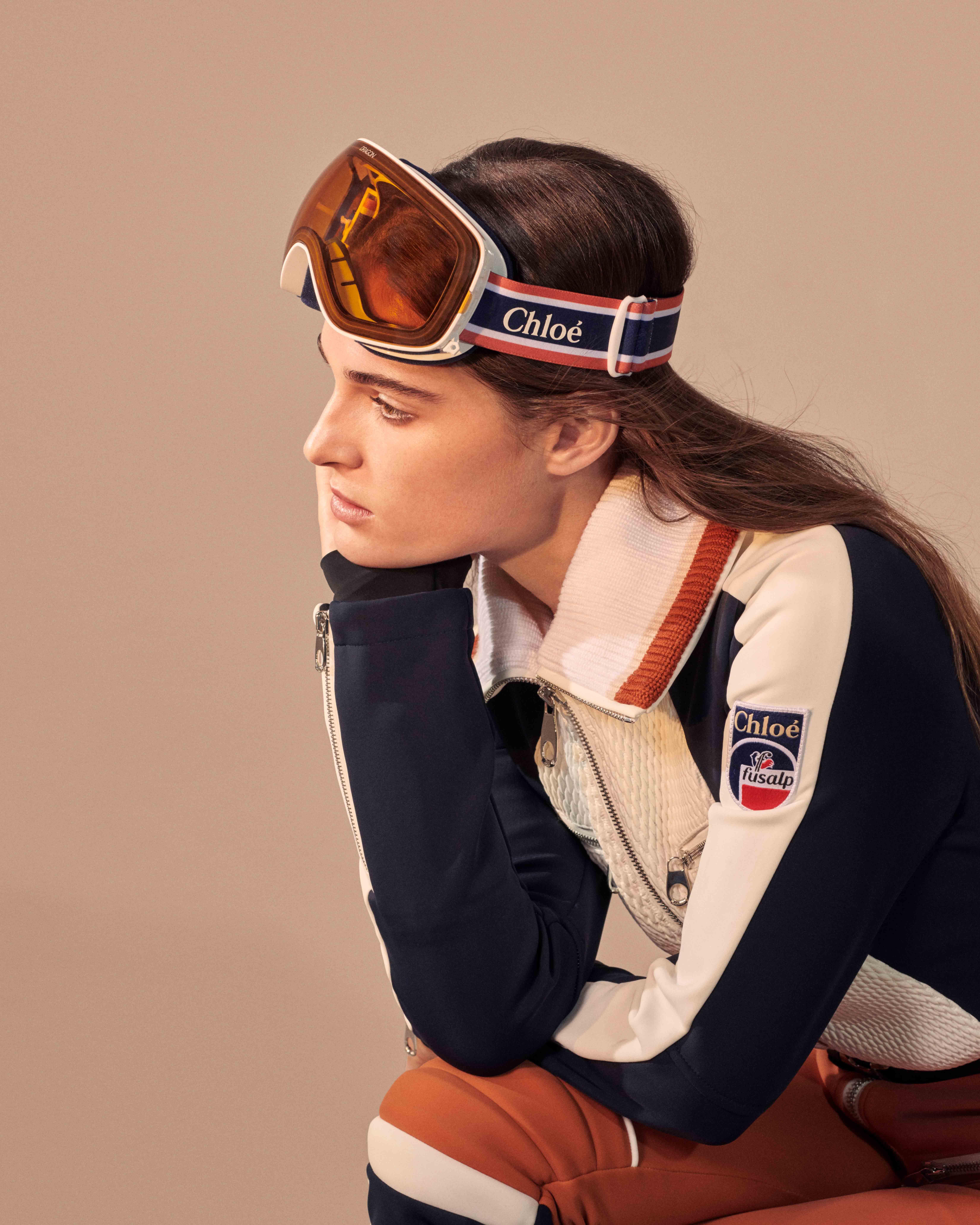 Chloé и Fusalp создали коллекцию лыжной одежды