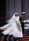 Принцесса Диана и принц Чарльз на своей свадьбе в 1981 году