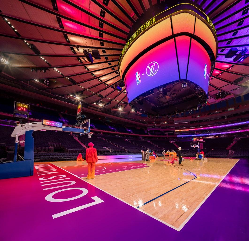 Louis Vuitton показали капсульную коллекцию с NBA