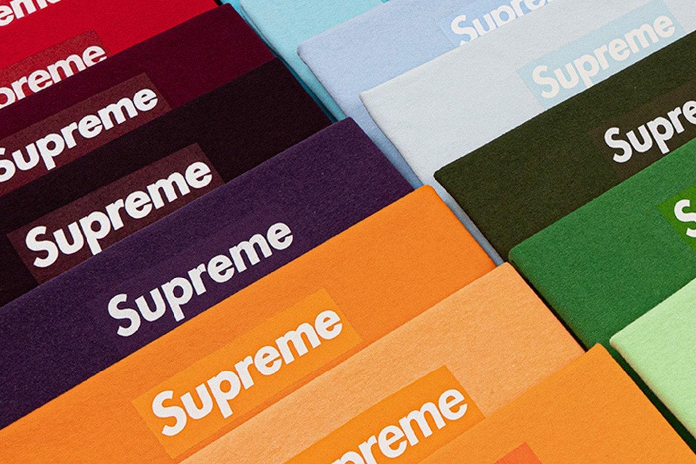 Футболки Supreme Box Logo — на аукционе Christie's