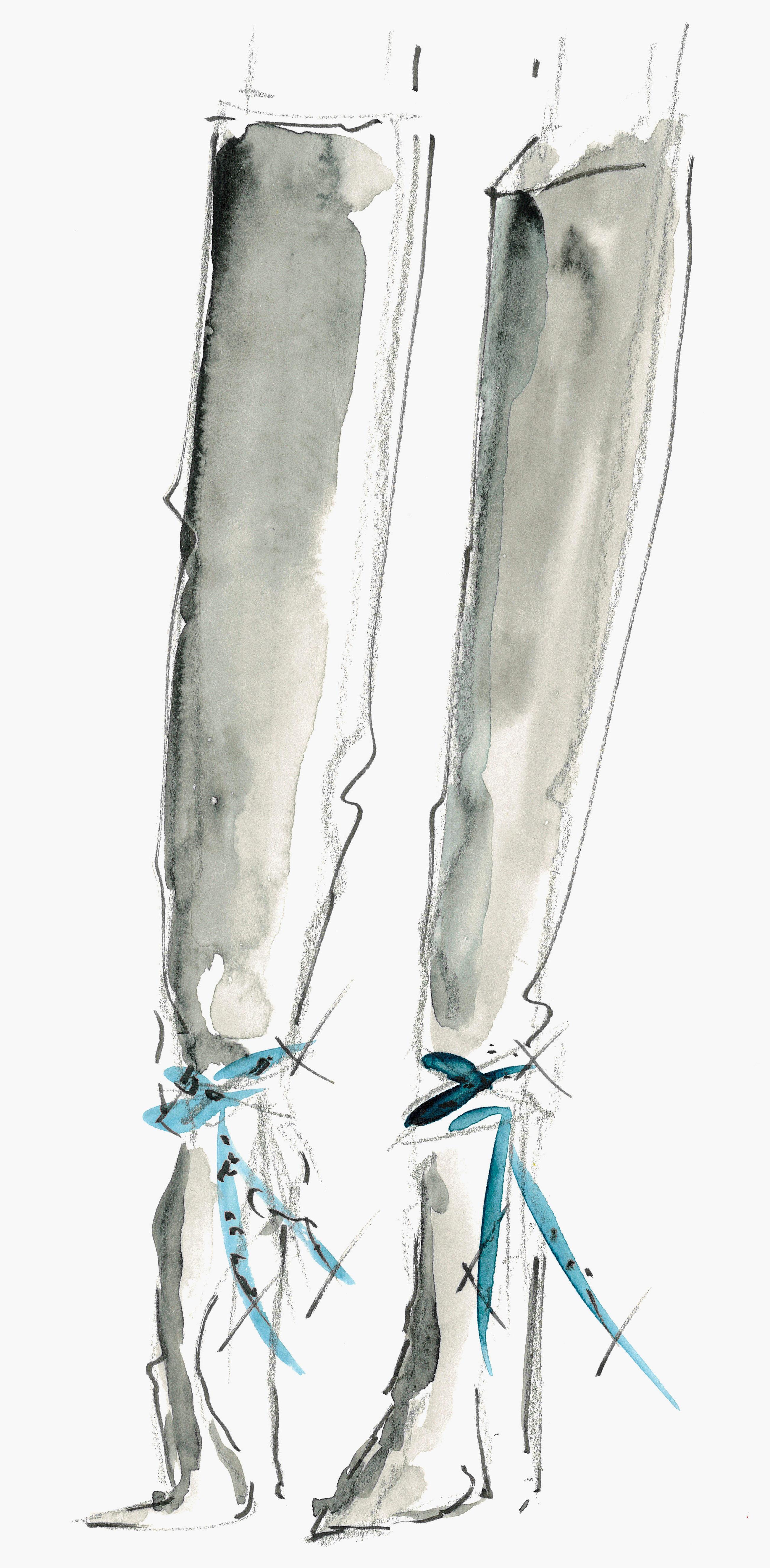 Giuseppe Zanotti будут создавать обувь для Alexandre Vauthier