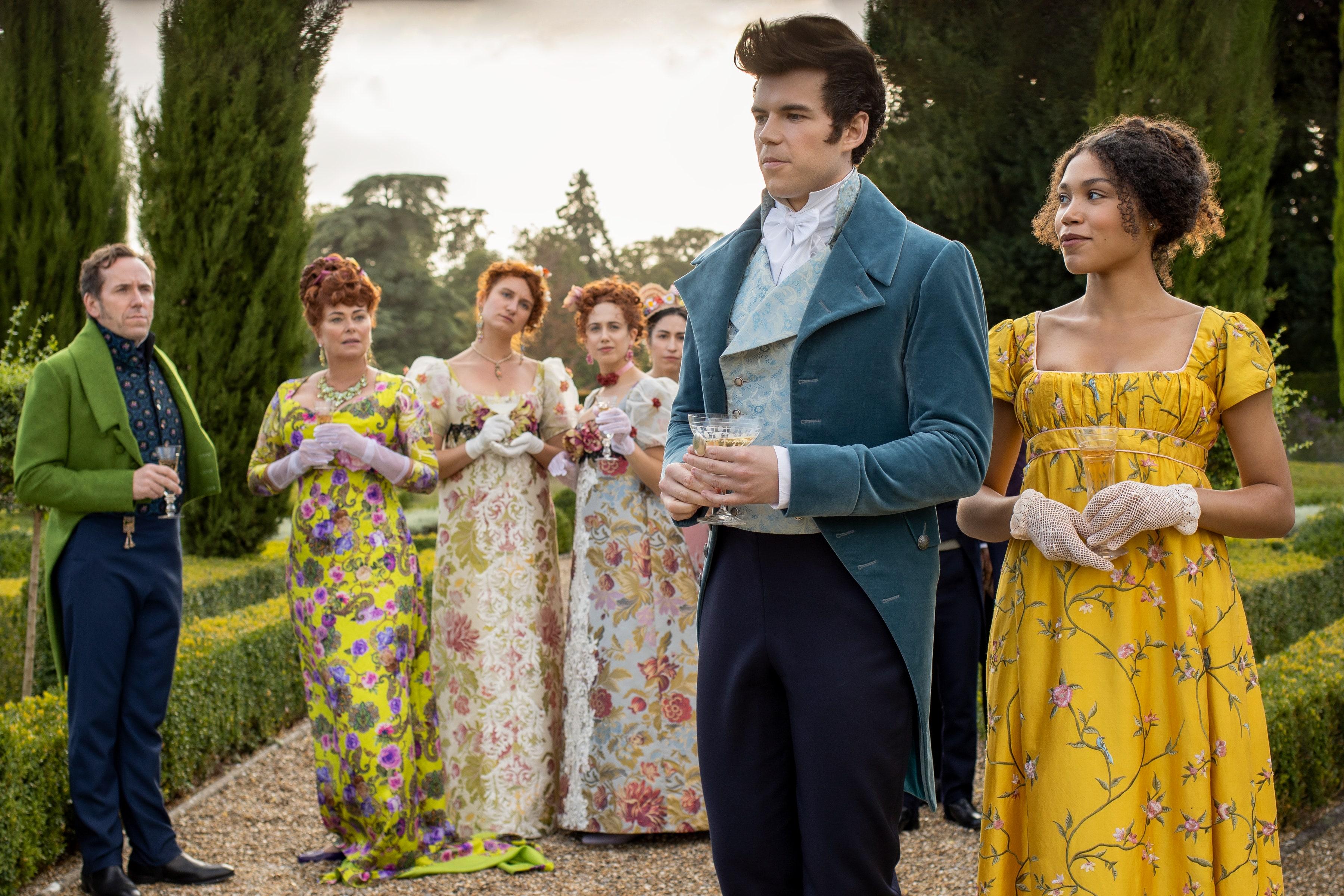 Netflix: как создавались костюмы нового сериала «Бриджертоны» о периоде Регентства