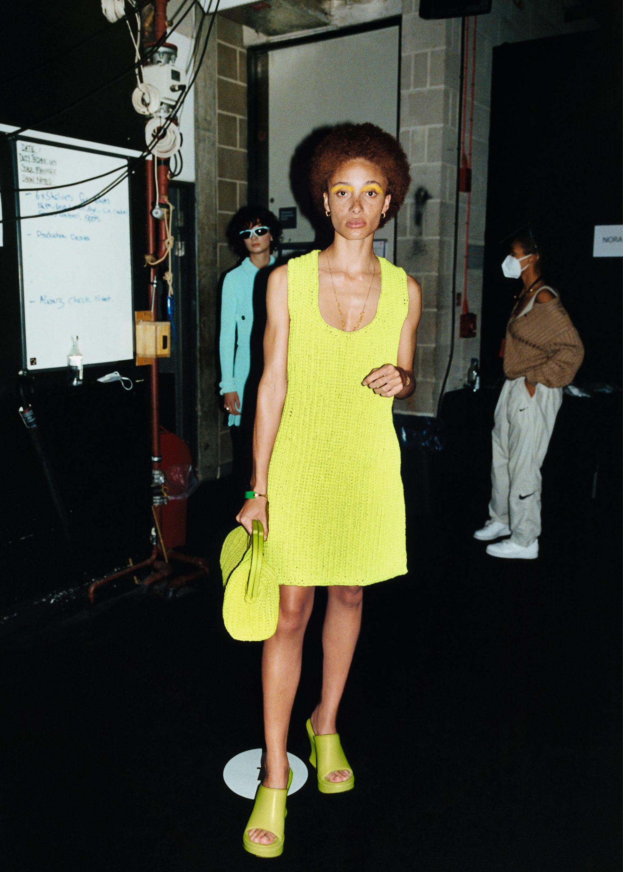Bottega Veneta Salon 01 London: закулисье показа