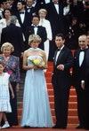 Принцесса Диана и принц Чарльз на Каннском кинофестивале в 1987 году