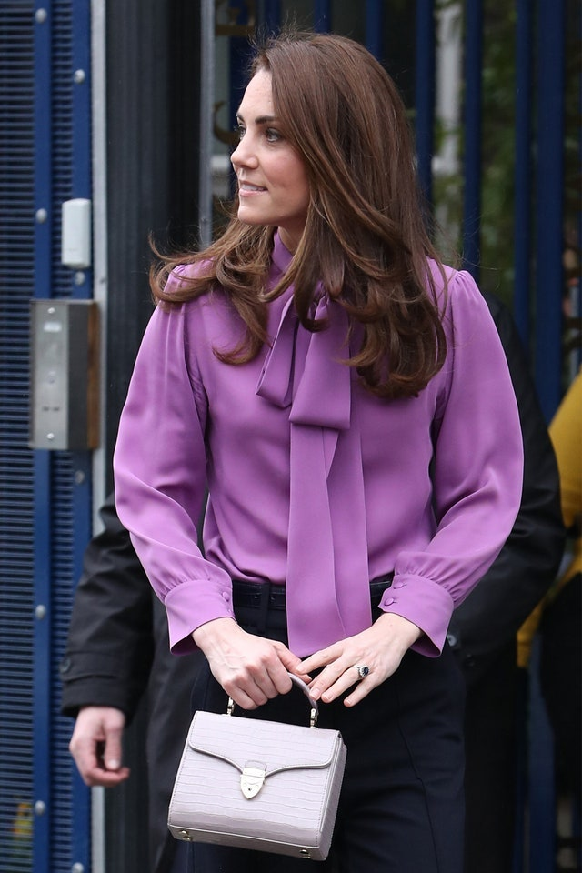 Какие сумки носит Кейт Миддлтон