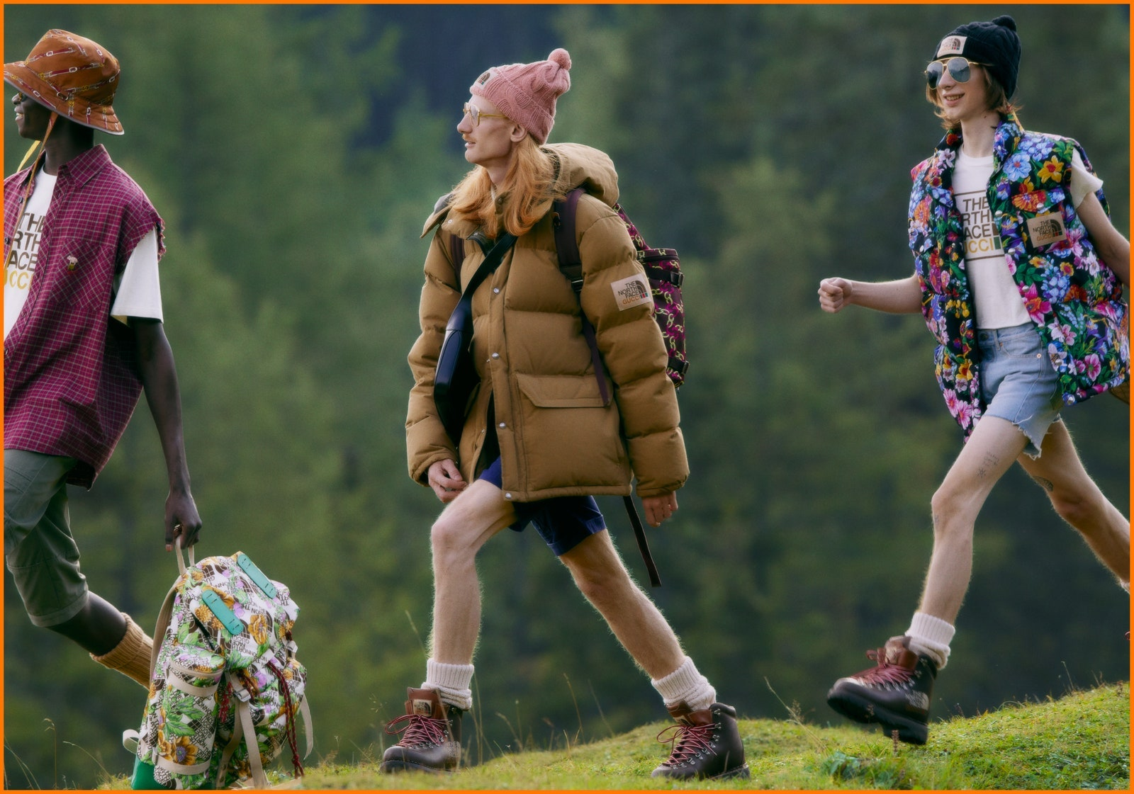 Gucci и The North Face представили совместную коллекцию