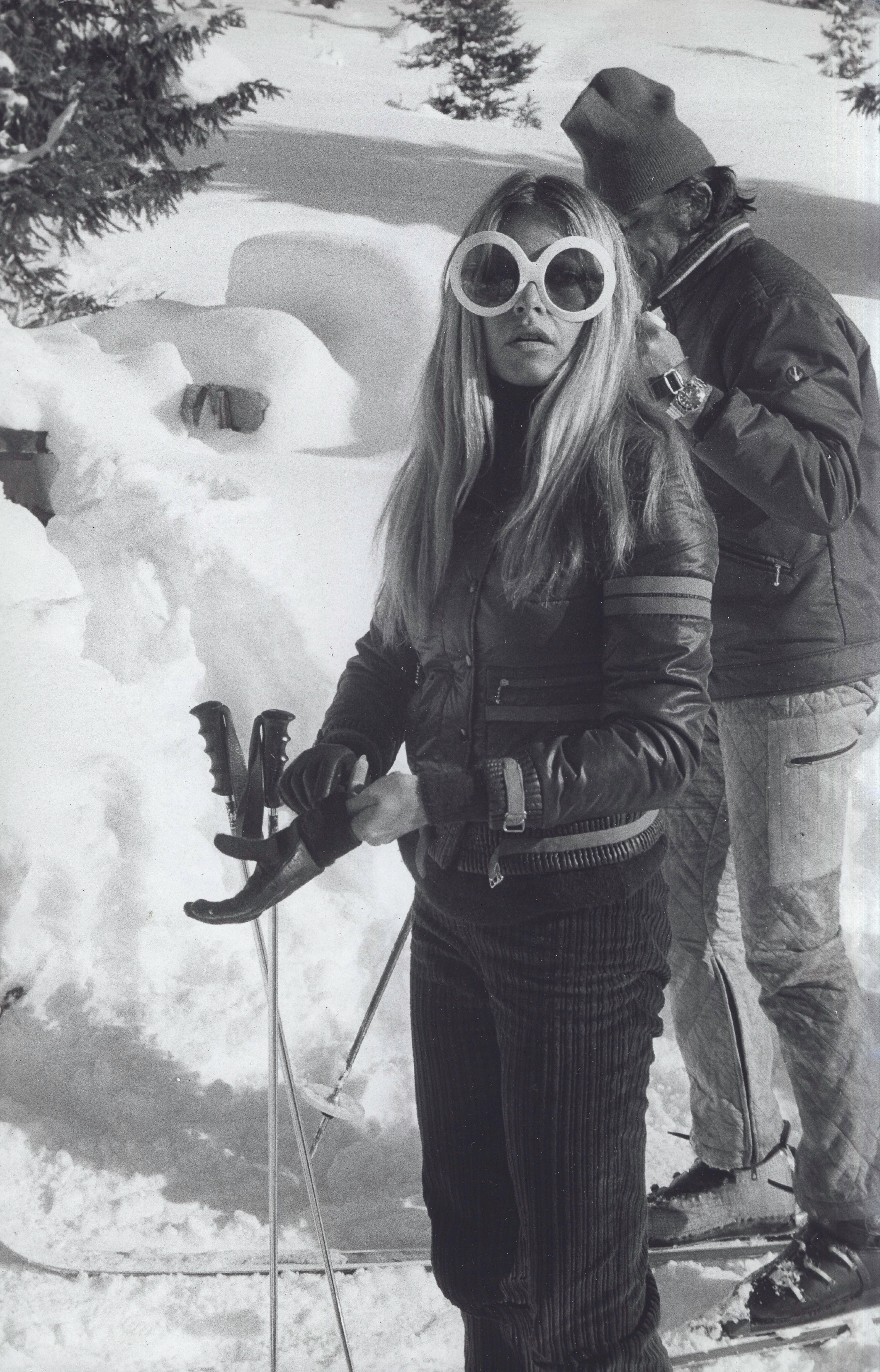 Джейн Биркин, Брижит Бардо и другие иконы прошлого на горнолыжном склоне