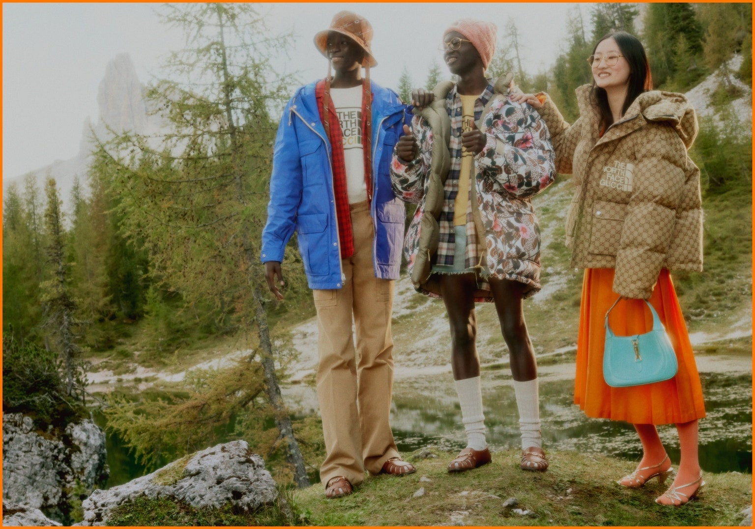Новая коллаборация Gucci иThe North Face сPokémon GO