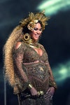 Image may contain: Skin, Beyoncé, Human, Person, Crowd, Festival, Female, and Face