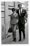 Одри Хепберн и Юбер де Живанши в Париже