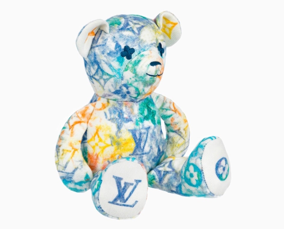 Louis Vuitton представил расписанную мелками монограмму