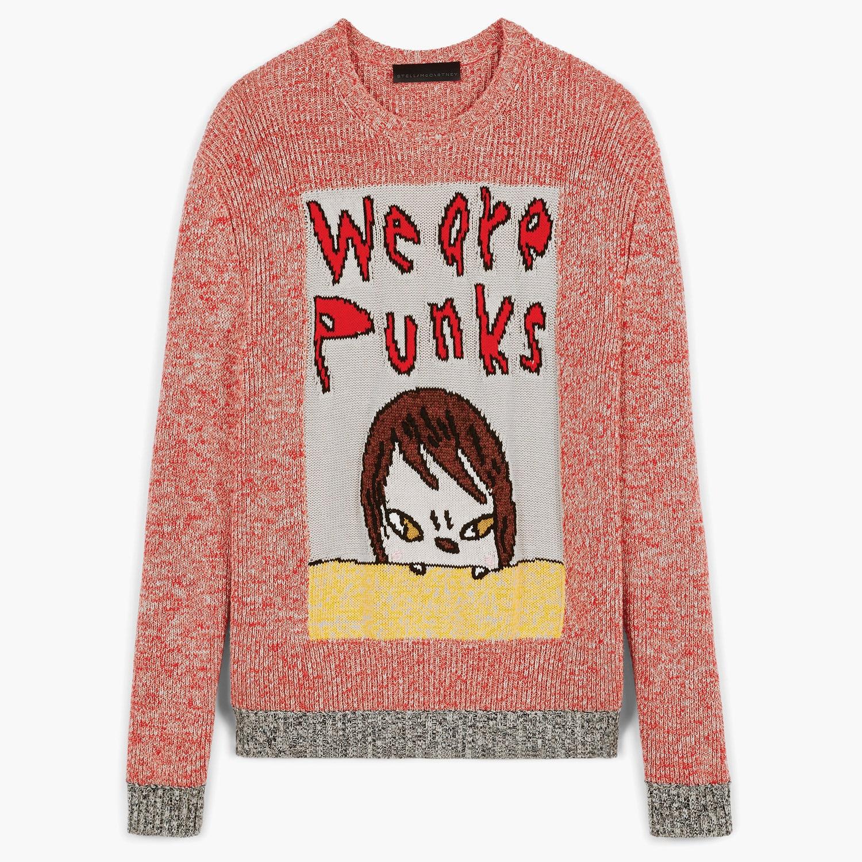 Вещь дня: свитер We are punks из коллаборации Stella McCartney с японским художником Ёситомо Нара