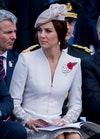 Герцогиня Кембриджская с брошью королевы