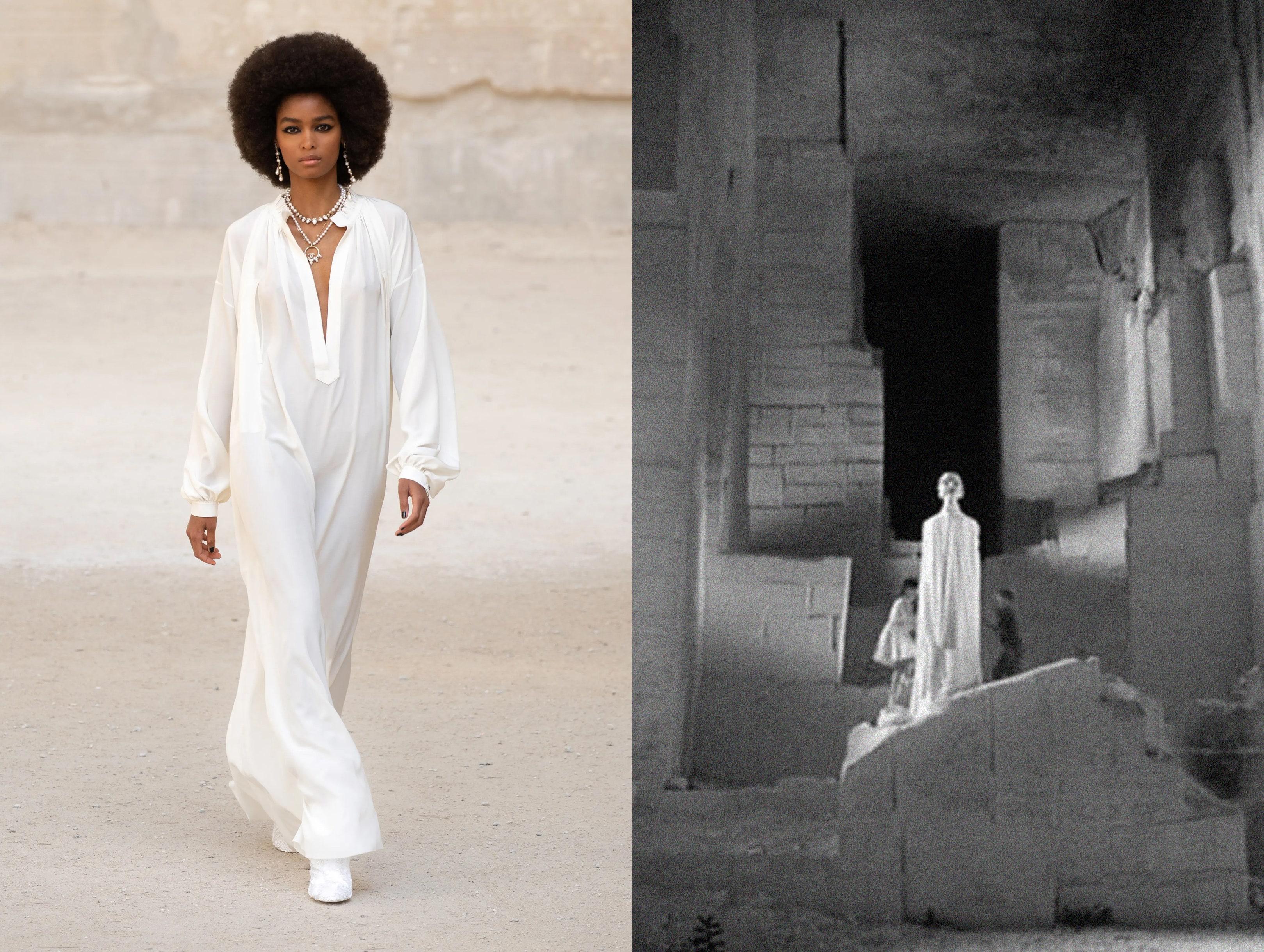 Chanel Cruise 2021: как Виржини Виар цитирует в новой коллекции Жана Кокто и как она работает с ДНК модного Дома