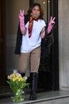 Леди Гага после съемок фильма о семье Гуччи