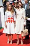 королевская семья Принцесса Иордании Иман Бинт Абдулла и Королева Иордании Рания