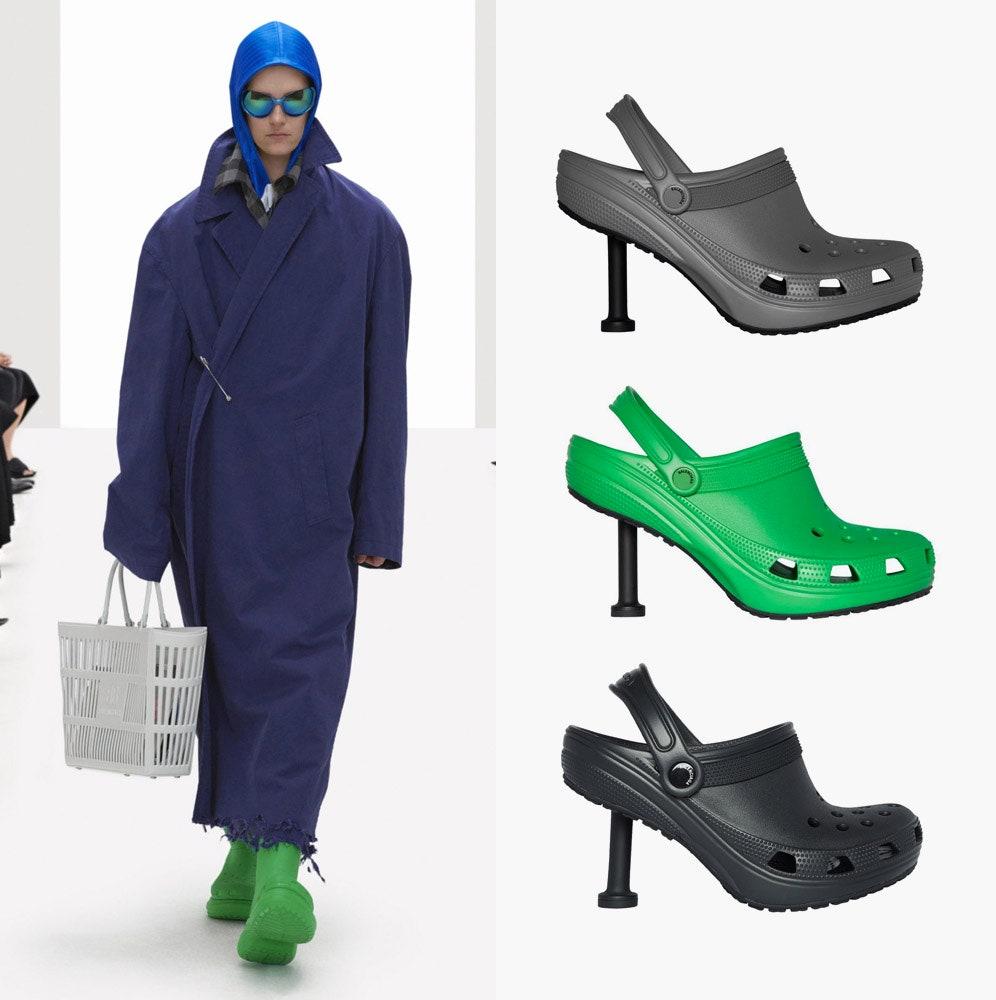 Кроксы Balenciaga на каблуке: что эксперты модной индустрии думают о самой обсуждаемой обуви недели