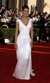 Холли Берри, премьера, Оскар, белое платье, стрижка пикси, красная ковровая дорожка