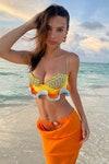 девушка море пляж