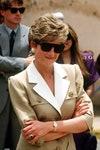 Человек Одежда Принцесса Диана Солнцезащитные очки