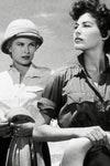 "Grace Kelly y Ava Gardner en  ""Mogambo"" (1953)."