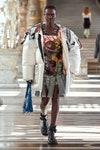 Louis Vuitton otoño 2021 falda plisada tendencia