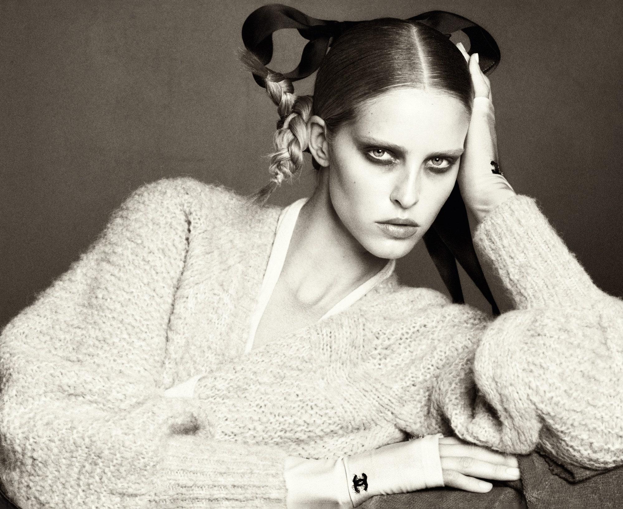 Ксения Соловьева об октябрьском номере Vogue